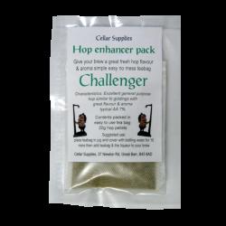 Hop Enhancer Tea Bag Pack - 20g Challenger Hop Pellets