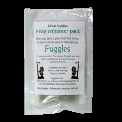 Hop Enhancer Tea Bag Pack - 20g Fuggles Hop Pellets