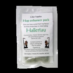 Hop Enhancer Tea Bag Pack - 20g Hallertau Hop Pellets