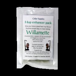 Hop Enhancer Tea Bag Pack - 20g Willamette Hop Pellets