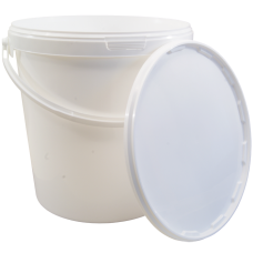 10 Litre Food Grade Plastic Bucket With Lid