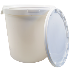 30 Litre Food Grade Plastic Bucket With Lid