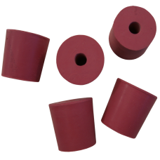 Pack Of 5 Bored Rubber Airlock Bungs To Fit 1 Gallon Demijohn