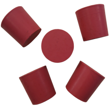 Pack Of 5 Solid Rubber Bung/Plugs To Fit 1 Gallon Glass Demijohn