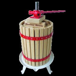 6 Litre Traditional Fruit / Cider Spindle Press