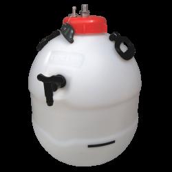 Balliihoo King Keg Premium Barrel, Co2 Injection Valve & Pressure Indicator
