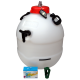 Balliihoo King Keg Premium Barrel & Co2 Injection Valve, Pressure Indicator,  Co2 Bulbs, Bulb Holder