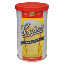 Coopers Draught - 1.7kg - 40 Pint - Single Tin Beer Kit