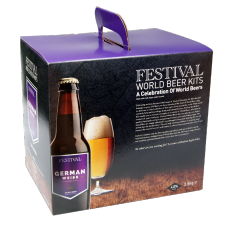 Festival World Beer Kit - German Weiss - 40 Pint - Full Bodied Wheat Beer