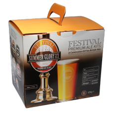 Festival Premium Ale Kit - Summer Glory Golden Ale - 40 Pint - Refreshing Elderflower Ale