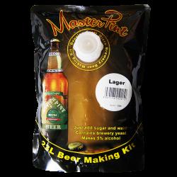 MasterPint- Lager - 1.6kg - 40 Pint Beer Kit