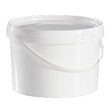 2.5 Litre Food Grade Plastic Bucket With Lid