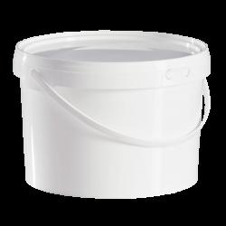 2.5 Litre Food Grade Plastic Bucket With Lid