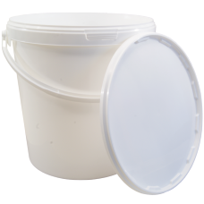 21 Litre Food Grade Plastic Bucket With Lid