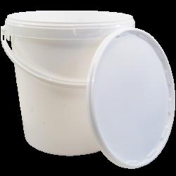 21 Litre Food Grade Plastic Bucket With Lid