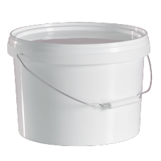 5 Litre Food Grade Plastic Bucket With Lid