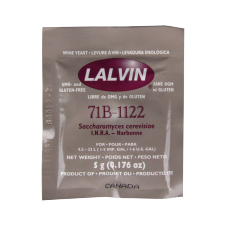 Lalvin - Nouveau Wine And Cider Yeast - 71B-1122 - 5g Sachet