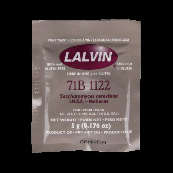 Lalvin - Nouveau Wine And Cider Yeast - 71B-1122 - 5g Sachet