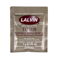 Lalvin - Champagne Yeast - EC-1118  - 5g - Ideal for Elderflower Champagne