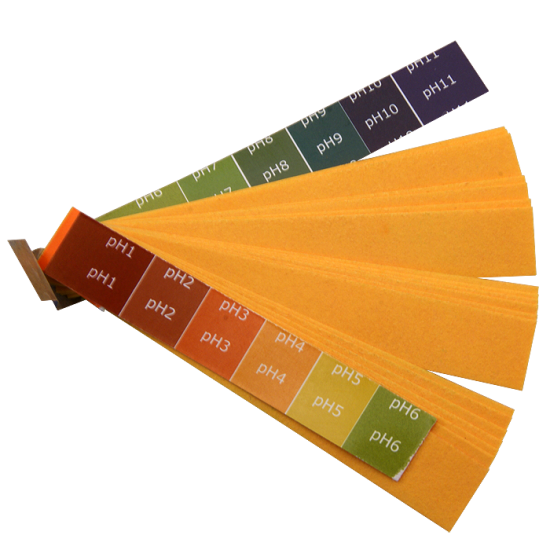 Litmus Papers - Acid Test - pH 1-11 - Book of 20 Strips