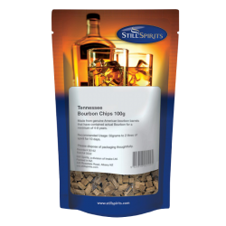 Still Spirits - Tennessee Bourbon Barrel Chips - 100g Bag