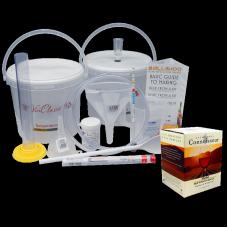 6 Bottle Wine Making Equipment Kit & Merlot Ingredient Kit