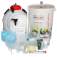 Balliihoo Premium Equipment Starter Set For Beer Kits - With King Keg Top Tap Barrel & CO2 Injection System