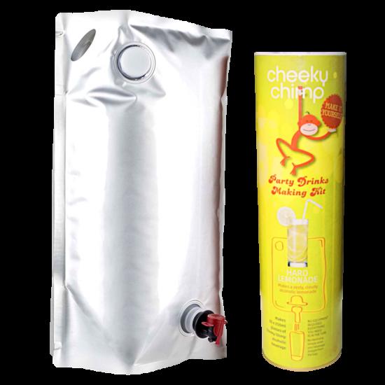 Cheeky Chimp - Hard Lemonade - Brew In Bag Party Drinks Making Kit