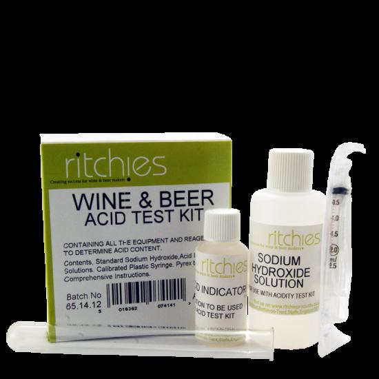 Acid Test Kit - Titration Kit