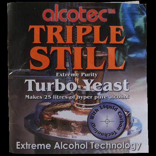 Alcotec - Triple Still Extreme Purity Turbo Yeast