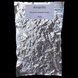Amarillo Whole Leaf Hops - Vacuum Packed - 100g