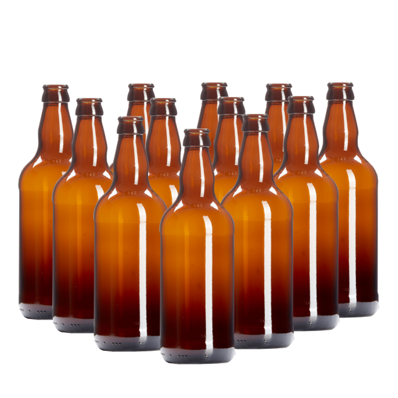 500ml Amber Beer Bottles Pack Of 15