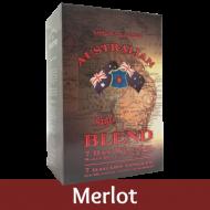 Australian Blend - Merlot Wine Kit - 30 Bottle - Seven Day Kit