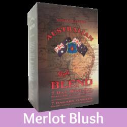 Australian Blend - Merlot Blush Rose Wine Kit - 30 Bottle - Seven Day Kit
