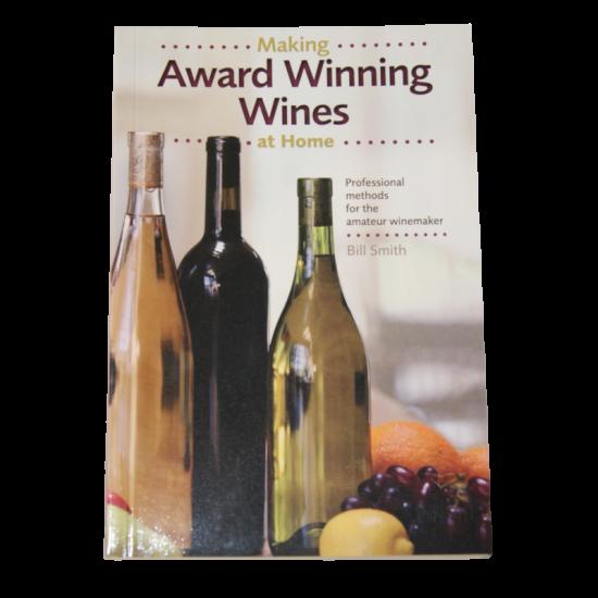 Award Winning Wines Book - Bill Smith
