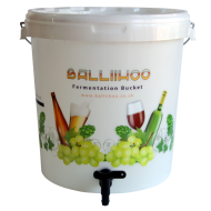 30 Litre Fermentation Bucket With Lever Tap & LCD Temperature Indicator