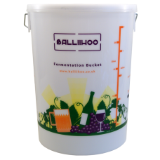25 Litre / 5 Gallon Fermentation Bucket With LCD Temperature Indicator