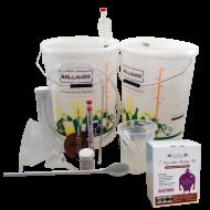 30 Bottle Starter Set & Rose Blush Wine (Sugar Required) Ingredient Kit