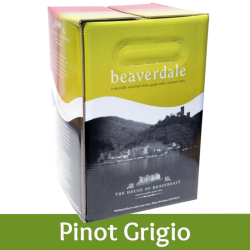 Beaverdale - Pinot Grigio - 30 Bottle Wine Kit