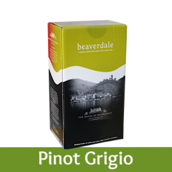 Beaverdale - Pinot Grigio - 6 Bottle White Wine Kit