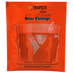 Youngs Beer Finings - Sachet - For Up To 23 Litres
