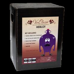 VinClasse Wine Kit - Merlot - 23L / 30 Bottle - 7 Day Kit