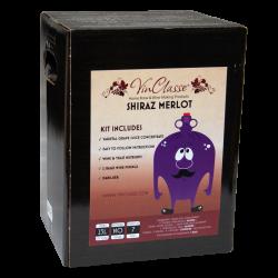 VinClasse Wine Kit - Shiraz/Merlot - 23L / 30 Bottle - 7 Day Kit