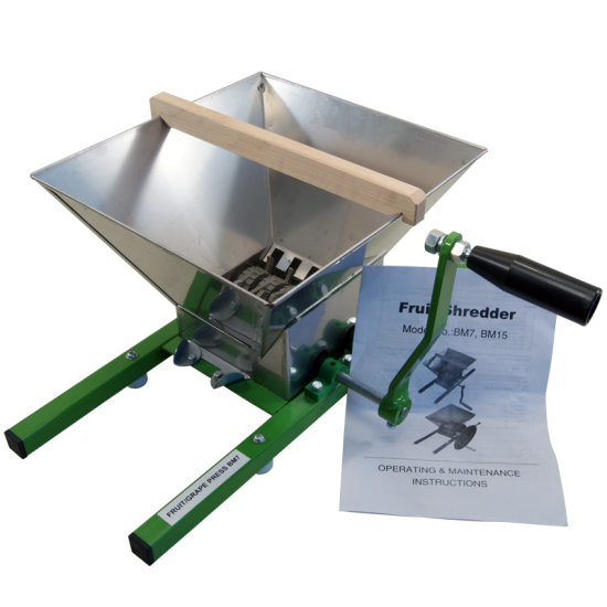 7 Litre Traditional Fruit Crusher/Shredder