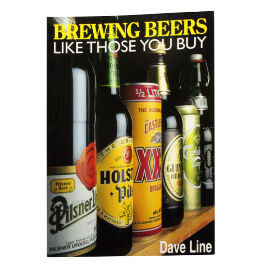 Brewing Beers Like Those You Buy Book - Dave Line