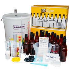 Balliihoo Complete Equipment Starter Set For Beer Kits - With Bottles
