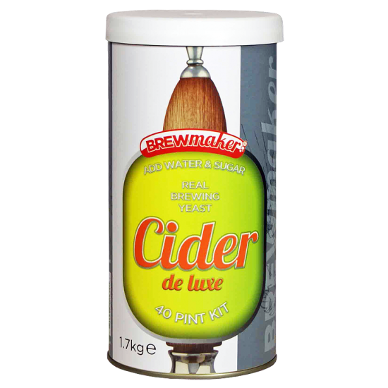Brewmaker Cider De Luxe - 1.8kg Single Tin Cider Making Kit