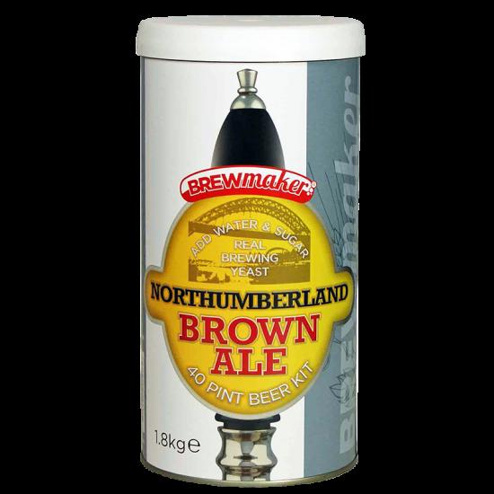 Brewmaker Northumberland Brown Ale - 1.8kg - Single Tin Beer Kit
