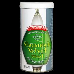 Brewmaker Shamrock Velvet Stout - 1.8kg - Single Tin Beer Kit