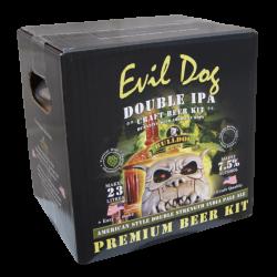 Bulldog Brews Evil Dog Double IPA - 40 Pint - Premium Double Strength Beer Kit